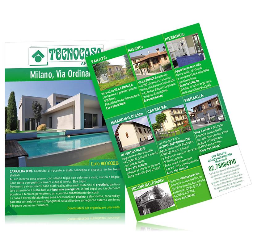 Volantino agenzia immobiliare - Percentuale agenzia immobiliare tecnocasa ...